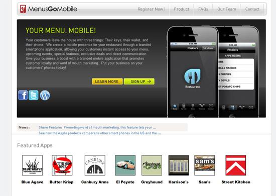 MenusGoMobile.com